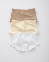3-Pack Boyshort Comfy Panties in Cotton